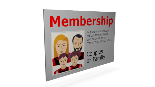 Membership Couples or Family