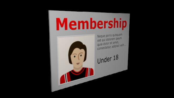 Membership Under 18