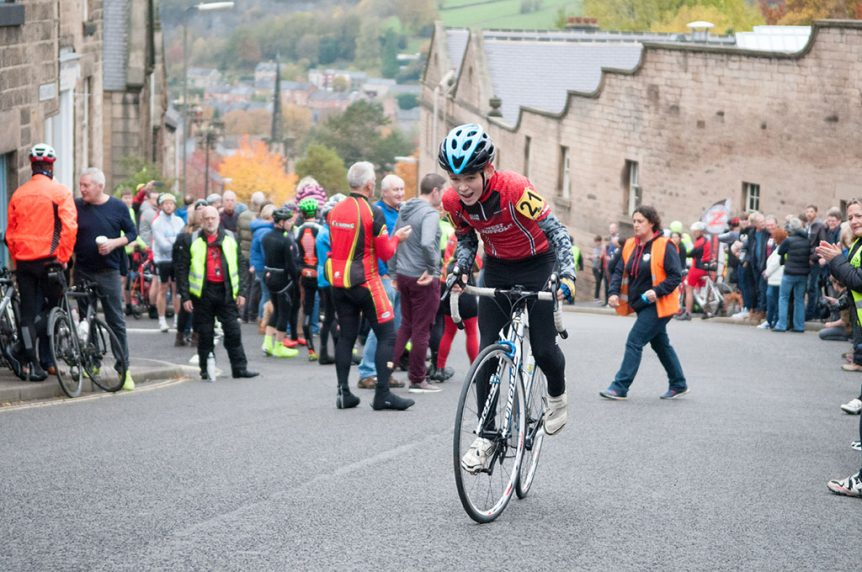 Charlie Knowler - National Hill Climb Champ 2016