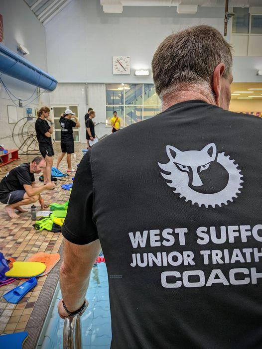 Junior tri swim session at Bury St Edmunds Leisure Centre